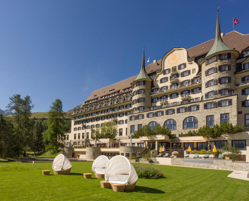 Dornbracht Suvretta House St Moritz