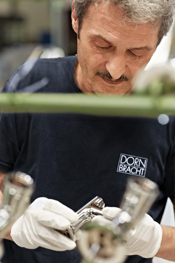 Dornbracht Traditionelles Manufaktur-Handwerk