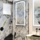 Chateau de Vignee Dornbracht bathroom Tara luxury marble black